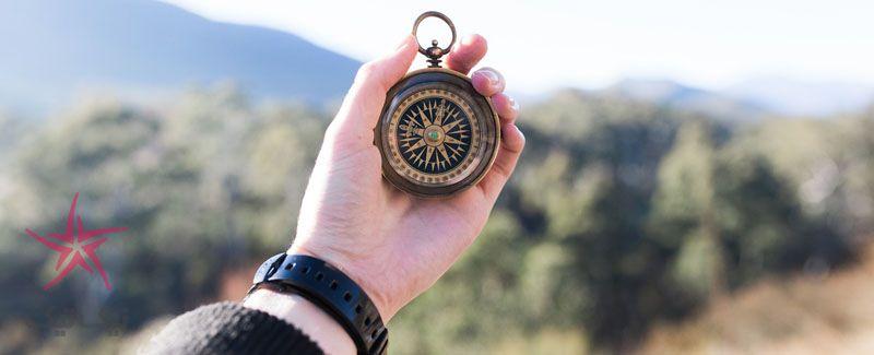 چطور مسیر خود را بدون قطب نما پیدا کنیم؟