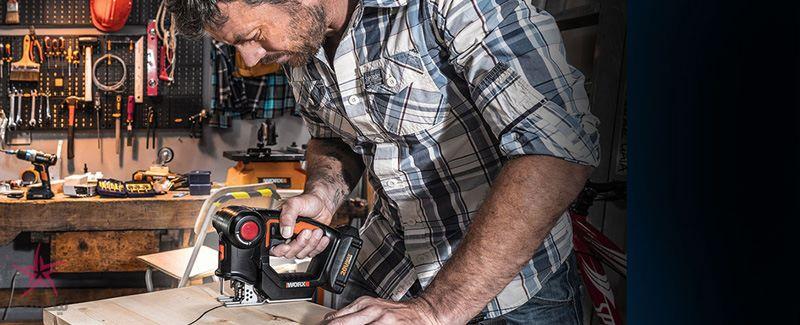 دو اره برقی در یک ابزار ، نوآوری دیگری از شرکت Worx