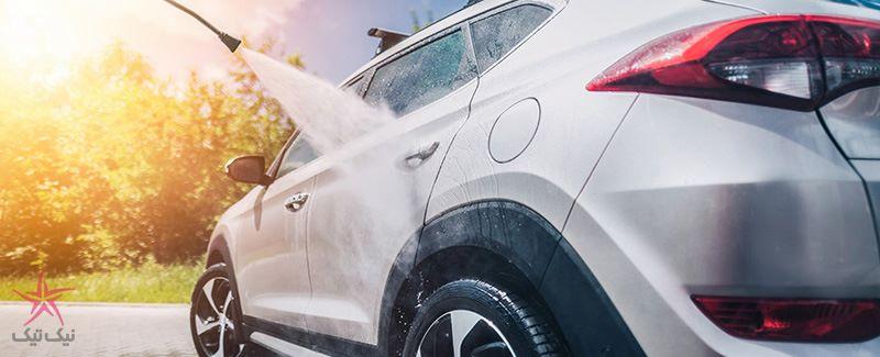 با کارواش خانگی هیوندای خودروی خود را با سرعت و کمترین مصرف آب بشویید