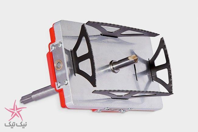 به کمک این ابزار با دریل معمولی خود حفره مربع شکل بسازید