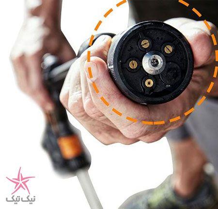 آب پاش و کارواش شارژی محصول جدید شرکت خلاق Worx