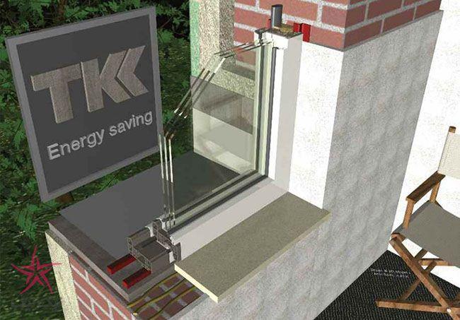 نصب پنجره و درب خارجی ساختمان با محصولات TKK