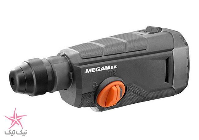 ابزار چند کاره ریجید با نام MegaMax ، اره افقی بر ، دریل سر کج و...