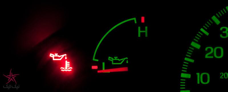 دلایل کاهش فشار روغن موتور در خودرو چیست؟