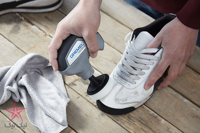 تمیز کردن و جرم گیری سطوح به سادگی با فرچه شارژی Dremel