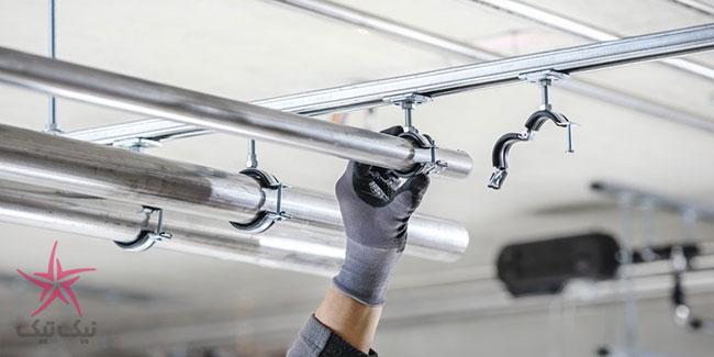 بست لوله جدید هیلتی با قابلیت نصب آسان روی انواع لوله