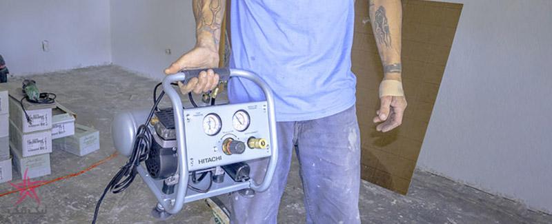 کمپرسور باد بی صدا مدل EC28M محصولی از شرکت هیتاچی