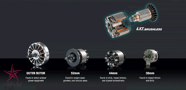چه چیزی باعث شده تا موتور بدون ذغال ماکیتا (براشلس) متفاوت باشد؟