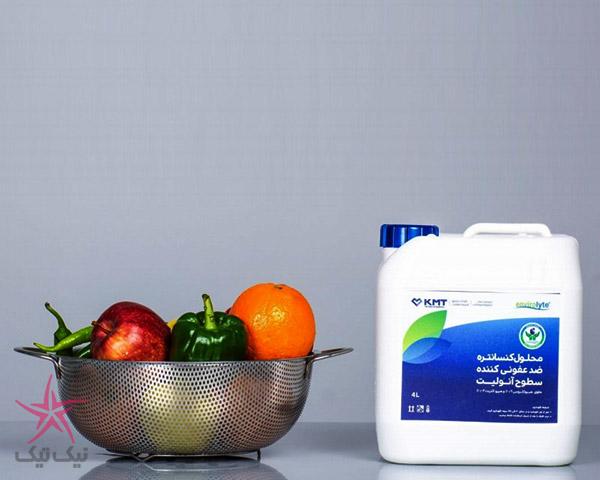 محلول آنولیت ، بصرفه ترین و بهترین محلول ضدعفونی سطوح