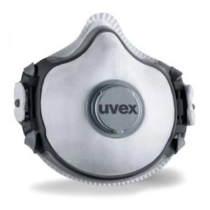 ماسک سوپاپدار UVEX مدل Silv-air e 7313 (بسته شامل ۲۰ عدد پد و یک عدد گیره)
