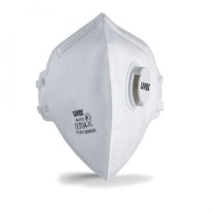 ماسک سوپاپدار FFP3 برند UVEX مدل silv-air 3310
