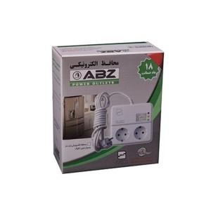 پریز محافظ دوراهی ۲ متری ای بی زد با نمايشگر آنالوگ ABZ225005A2