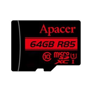 کارت حافظه microSDXC اپیسر مدل AP64G کلاس 10 استاندارد UHS-I U1 ظرفیت 64 گیگابایت