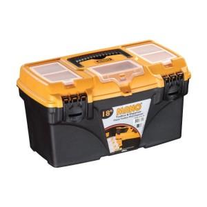 جعبه ابزارکلاسیک به همراه اورگانایزر CO18 سایز 18 اینچ مانو
