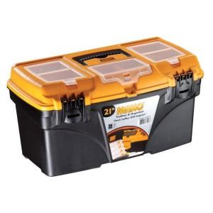 جعبه ابزارکلاسیک به همراه اورگانایزر CO21 سایز 21 اینچ مانو