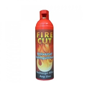 اسپری اطفای حریق FIRE CUT حجم 0.5 لیتری