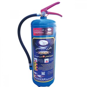 کپسول آب و گاز 6 لیتری خزر سیلندر