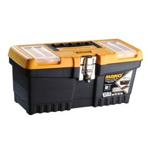 جعبه ابزار بلند با قفل فلزی به همراه اورگانایزر  JMT-13  سایز 13 اینچ مانو
