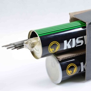 الکترود جوشکاری دستی کیسول E7018 بسته 5 کیلویی قطر 5 میلیمتر هرکیلو 42/000 تومان