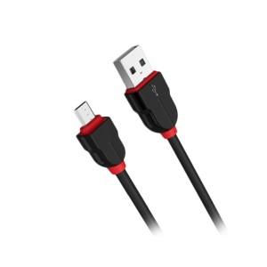 کابل تبدیل USB به microUSB الدینیو مدل LS02 طول 2 متر