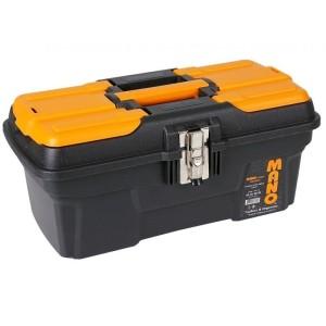 جعبه ابزار بلند با قفل فلزی به همراه اورگانایزر MG-16  سایز 16 اینچ مانو