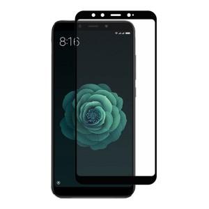 محافظ صفحه نمایش تمام چسب (گلس فول) گوشی موبایل شیائومی Mi A2