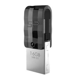 فلش مموری OTG سیلیکون پاور مدل Mobile C31 ظرفیت 16 گیگابایت