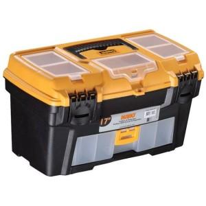 جعبه ابزار به همراه اورگانایزر و کشو RO-17  سایز 17 اینچ مانو