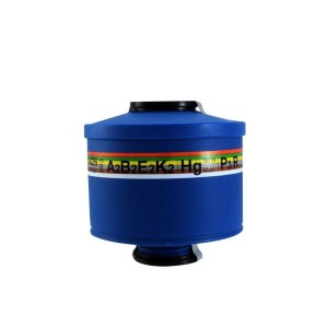 فیلتر ماسک شیمیایی 6 حالته A2B2E2K2HgP3R برند Spasciani