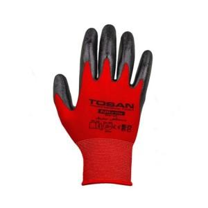دستکش 10 اینچ شیاری با پوشش نیتریل توسن TDP-NK10