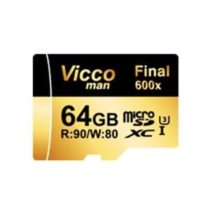 کارت حافظه microSDXC ویکو من مدل Final 600X کلاس 10 استاندارد UHS-I U3 ظرفیت 64 گیگابایت