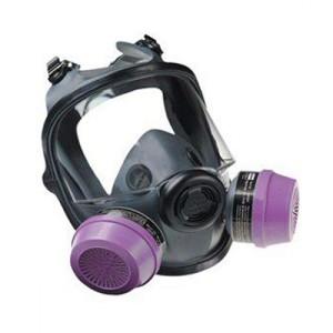 ماسک شیمیایی تمام صورت دو فیلتره North سری 5400