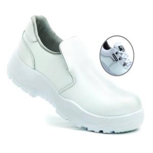 کفش ایمنی بیس سفید ایمن پا