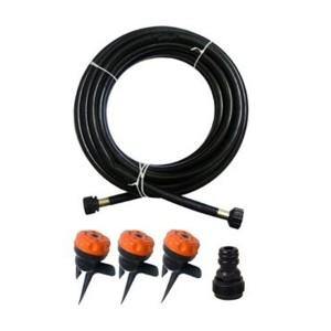 ست آبياری شامل3 آبپاش4 حالته  و10.5 متر شيلنگ و اتصال دهنده ها بهکو BRL-9404SET