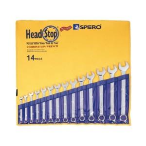 آچار یکسر 12 عددی کیفی هد استاپ سایز 8 تا 24 اسپرو 501712P2