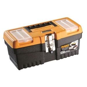 جعبه ابزار با قفل فلزی به همراه اورگانایز  MT13  سایز 13 اینچ مانو