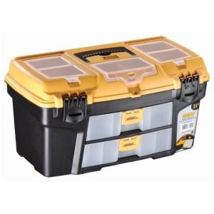 جعبه ابزار به همراه اورگانایزر و کشو RO-21  سایز 21 اینچ مانو