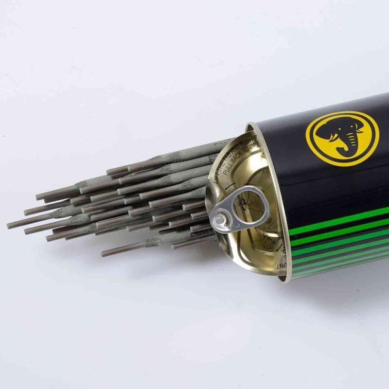 الکترود جوشکاری دستی کیسول E7018 بسته 5 کیلویی قطر 3.2 میلیمتر هرکیلو 60/000 تومان