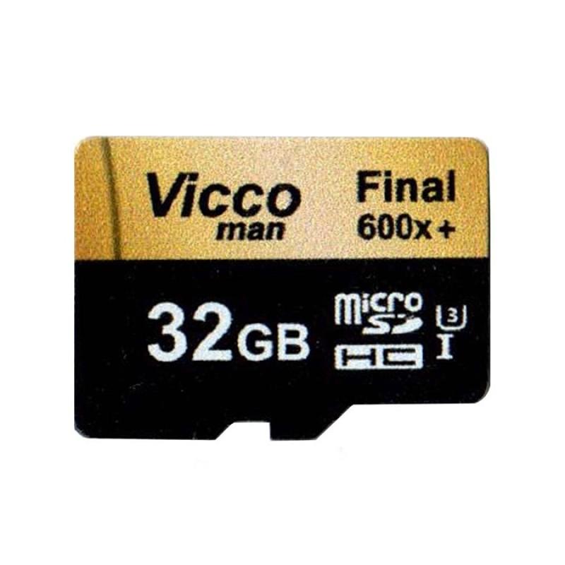 کارت حافظه microSDHC ویکومن مدل Extra 600X کلاس 10 استاندارد UHS-I U3 ظرفیت 32 گیگابایت